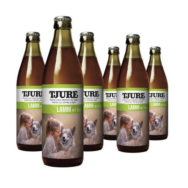 "TJURE Hund ""Lamm & Reis"" Six Pack 6 x 320 ml"