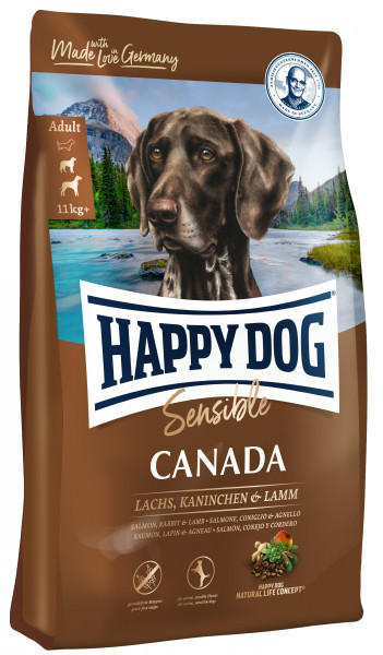Getreidefreies Hundefutter für aktive Hunde