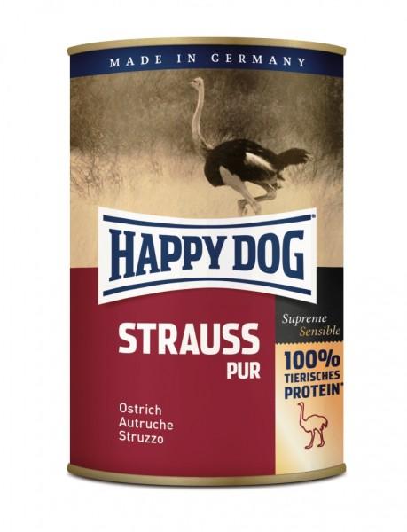 Straußenfleisch für Hunde