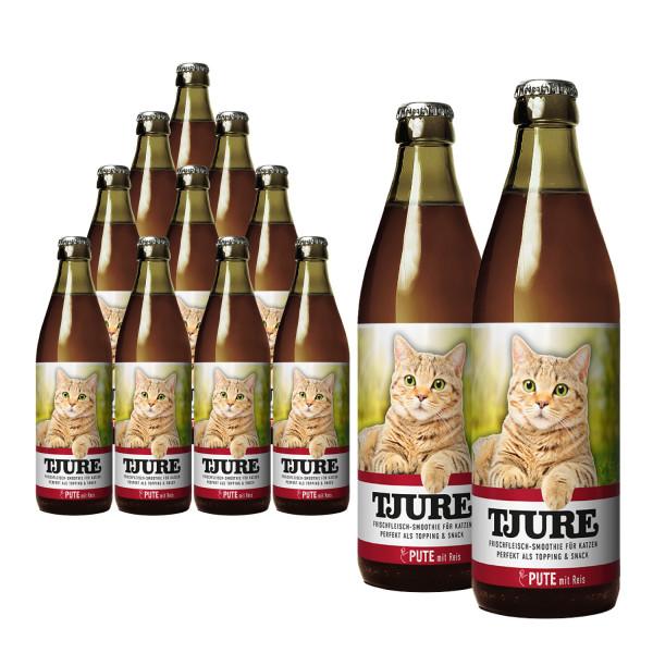 "TJURE Katze ""Pute"" Aktion 10+2 GRATIS"