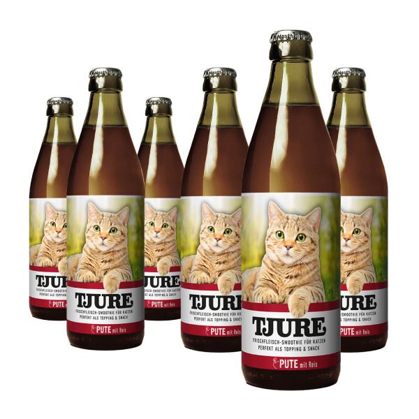 """TJURE Katze """"Pute"""" Six Pack 6 x 220 ml"""