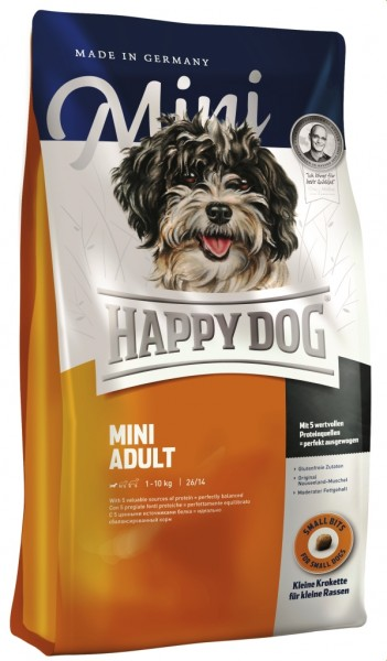 Das Hundefutter für Mops, Terrier, Biochon, Schopfhund, Dackel, Lhasa Apso
